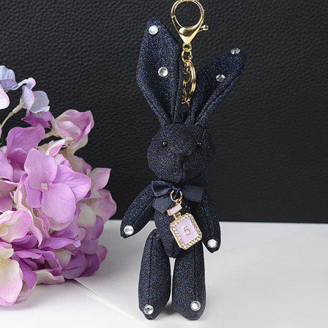 Affordable Rhinestone Cute Rabbit Keychain