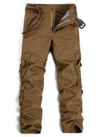 Best Pockets Design Straight Leg Cargo Pants