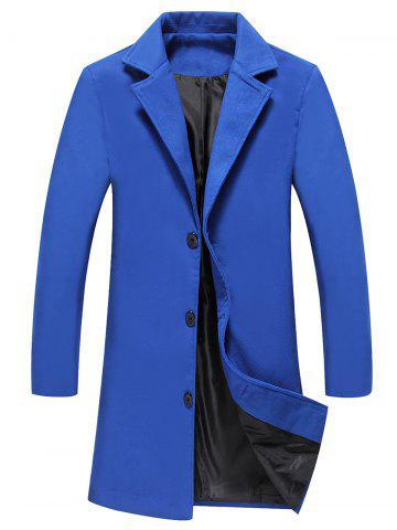Outfit Longline Single Breasted Woolen Coat