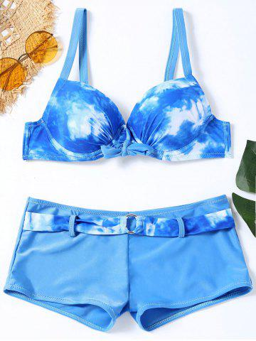 Ensemble de bikini Push Up Tie Dye