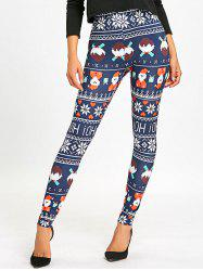 Christmas High Waist Leggings -