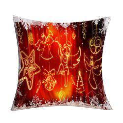 Christmas Angel Ornaments Printed Decorative Pillow Case -