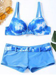 Ensemble de bikini Push Up Tie Dye -