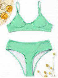 Cami Strap High Leg Bikini Swimwear -