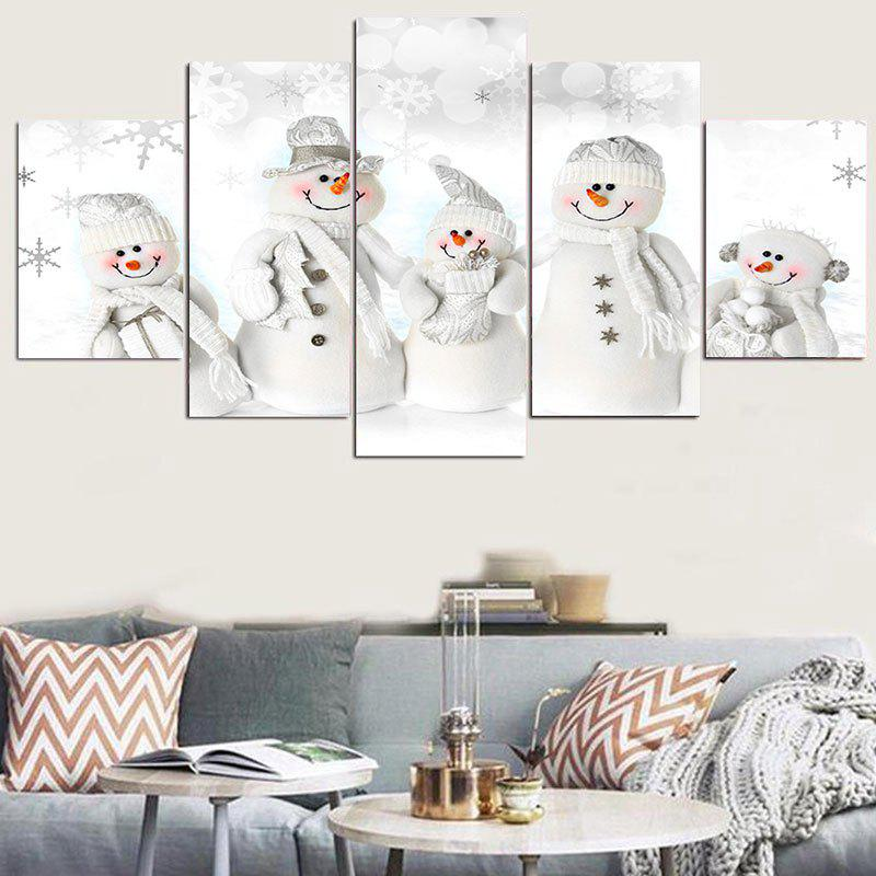 Snowmen Family Pattern Wall StickersHOME<br><br>Size: 1PC:8*20,2PCS:8*12,2PCS:8*16 INCH( NO FRAME ); Color: WHITE; Wall Sticker Type: Plane Wall Stickers; Functions: Decorative Wall Stickers; Theme: Christmas; Pattern Type: Snowman; Material: PVC; Feature: Removable; Weight: 0.1100kg; Package Contents: 5 x Wall Stickers (Pcs);