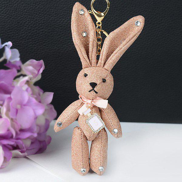 Shops Rhinestone Cute Rabbit Keychain