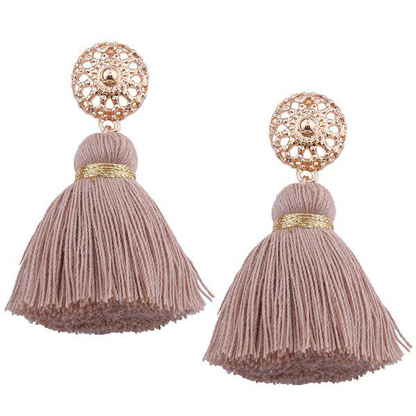 Chic Bohemian Alloy Tassel Earrings