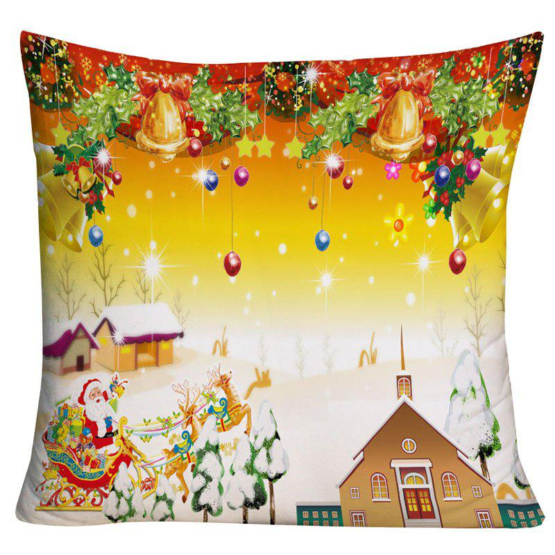 Latest Christmas Graphic Square Decorative Throw Pillow Case