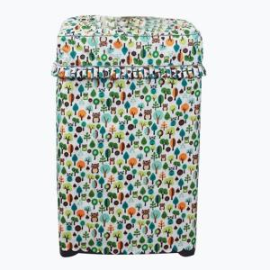 Patterned Waterproof Sunblock Washing Machine Cover -