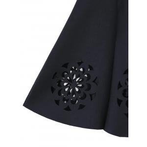 Cutwork Floral Skirt -