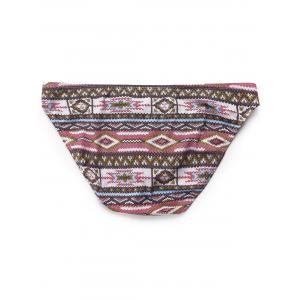 Tribal Print Low Rise Briefs -