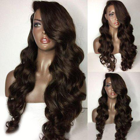 Sale Long Side Parting Loose Body Wave Lace Front Human Hair Wig