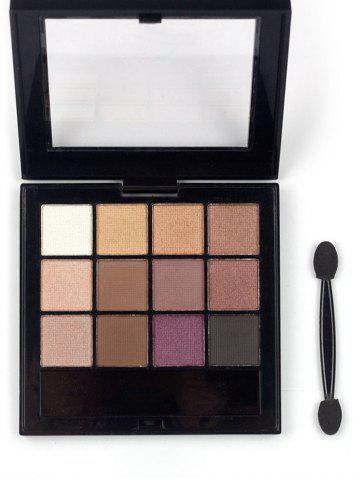 Hot 12 Colors Nature Colors Matte Eyeshadow Palette
