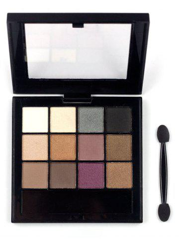 New 12 Colors Nature Colors Matte Eyeshadow Palette