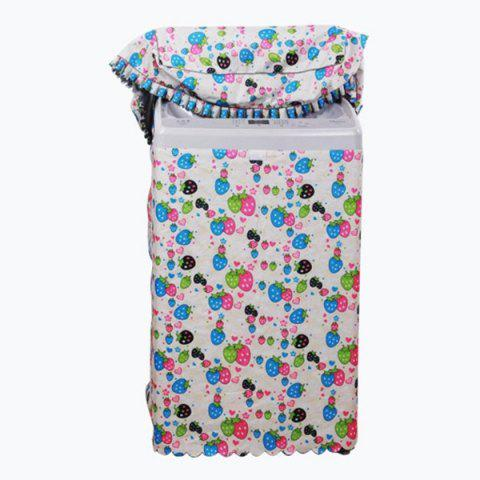 Online Patterned Waterproof Sunblock Washing Machine Cover