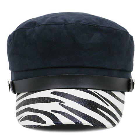 Discount Zebra Stripes Pattern Decorated Military Hat