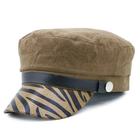 Affordable Zebra Stripes Pattern Decorated Military Hat