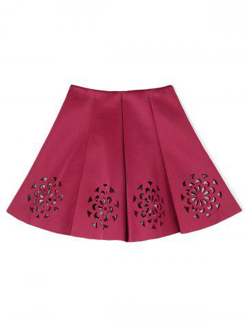 Discount Cutwork Floral Skirt