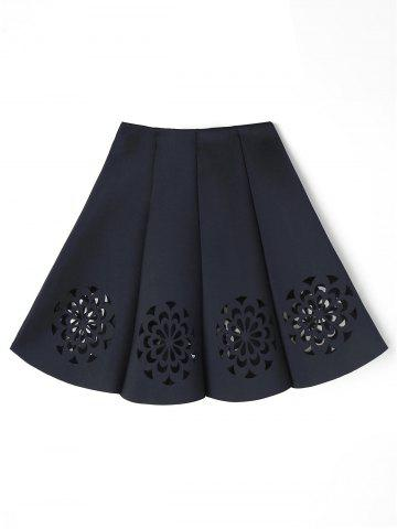 Fashion Cutwork Floral Skirt