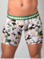 Colorful Ball Print U Pouch Boxer Briefs -