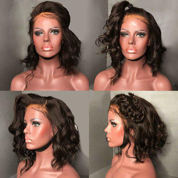 Medium Free Part Fluffy Loose Wave Lace Front Synthetic WigHAIR<br><br>Color: BROWN; Type: Full Wigs; Cap Construction: Lace Front; Style: Wavy; Cap Size: Average; Material: Synthetic Hair; Bang Type: Free Part; Length: Medium; Lace Wigs Type: Lace Front Wigs; Occasion: Brithday Party,Ceremony,Daily,Graduation Ceremony,Party,Wedding; Length Size(CM): 45; Length Size(Inch): 14; Heat Resistant: Below 200?; Weight: 0.2400kg; Package Contents: 1 x Wig;