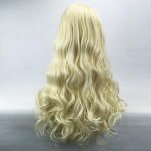 Long Side Parting Shaggy Wavy Lace Front Synthetic Wig -