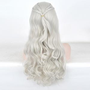 Long Braids Wavy Game of Thrones Daenerys Targaryen Cosplay Synthetic Wig -