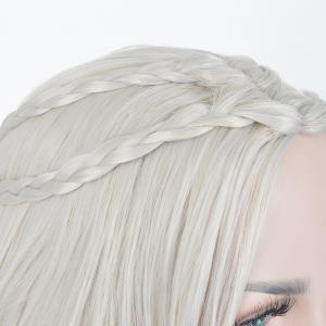 Long Tresses ondulé Game of Thrones Daenerys Targaryen cosplay perruque synthétique -