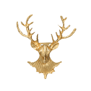 Christmas Alloy Deer Brooch -