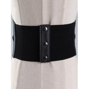 Vintage PU Leather Corset Waist Belt -