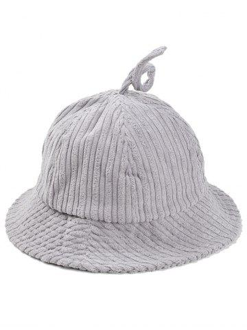 Shop Outdoor Striped Pattern Corduroy Bucket Hat
