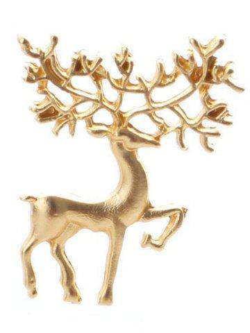Hot Christmas Alloy Elk Brooch