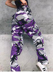 Camouflage Print Pants -