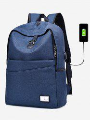 Multi Functional USB Charging Port Backpack -