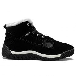 Faux Fur Lined Warm Casual Shoes -