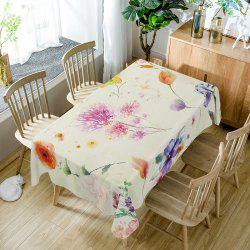 Flower Print Dining Table Cloth -