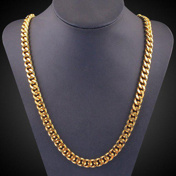 Discount Chunky Alloy Chain Link Necklace