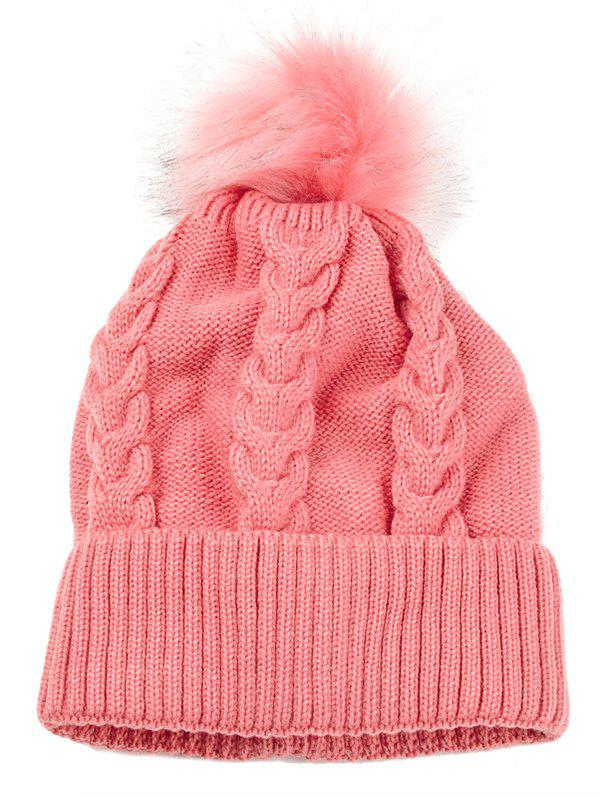 Store Outdoor Striped Pattern Embellished Crochet Knitted Beanie