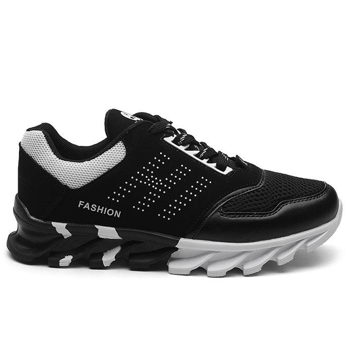 Shops Mesh Vamp Breathable Color Block Athletic Sneakers