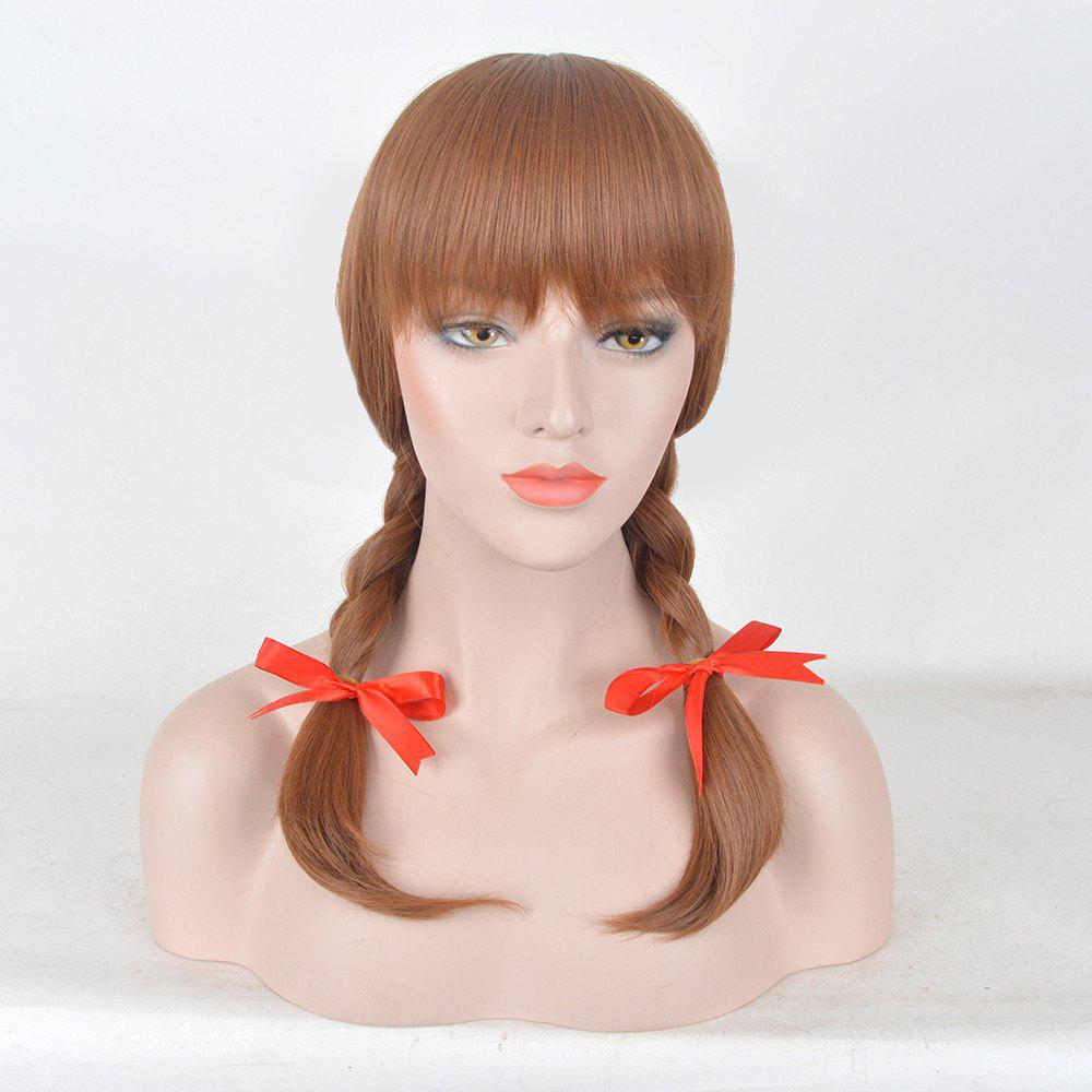 Store Medium Neat Bang Braids Synthetic Annabelle 2 Cosplay Wig