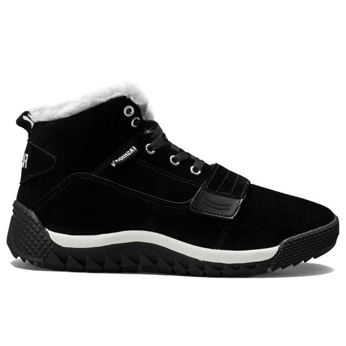 Affordable Faux Fur Lined Warm Casual Shoes