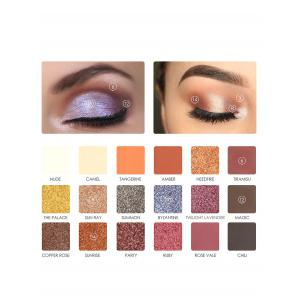 18 Colors Professional Eyeshadow Shimmer Palette -