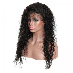 Long Side Parting Fluffy Kinky Curly Lace Front Synthetic Hair -