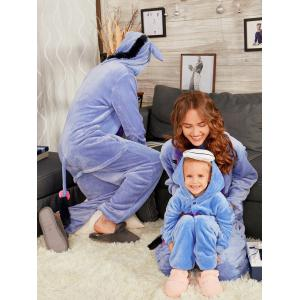 Animal Onesie Donkey Matching Family Christmas Pajama -