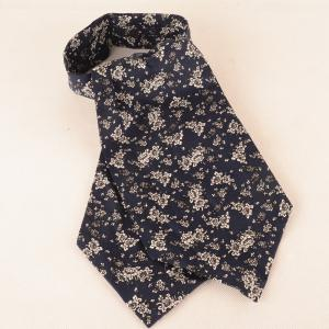 Ensemble de cravate papillon mouchoir motif floral cravate -