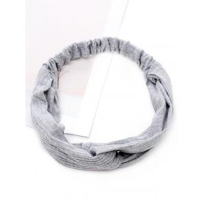 Vintage Striped Elastic Hair Band -