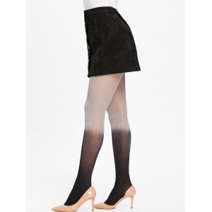 Sheer Ombre Color Pantyhose -