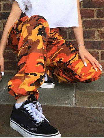 Fashion Camouflage Print Pants