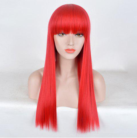 Shops Long Full Bang Straight Party Synthetic Wig