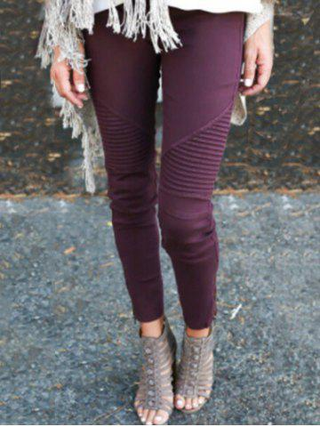 Fancy Side Zipper Embellished Skinny Jeans